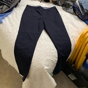 NWT Banana Republic Navy Blue Aiden Fit Chino Pant